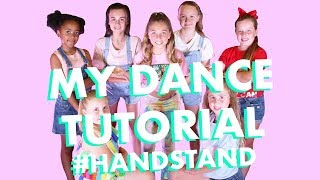 dance tutorial handstand learn to dance with me rosie mcclelland