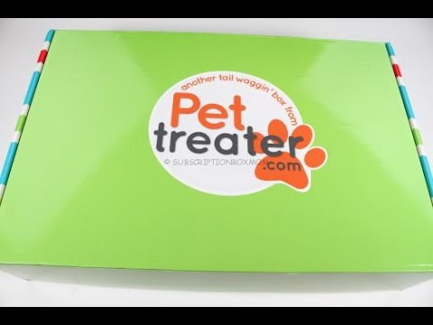 Pet Treater Box July 2016 Unboxing + Coupons – Free Pet Bed #PETTREATER