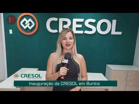 Inauguração da CRESOL em Buritis
