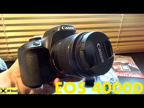 The Canon EOS 4000D DSLR Unboxing Video