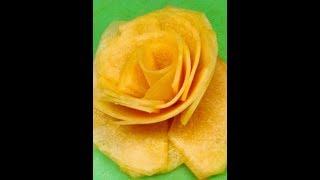 How to make a cantaloupe flower