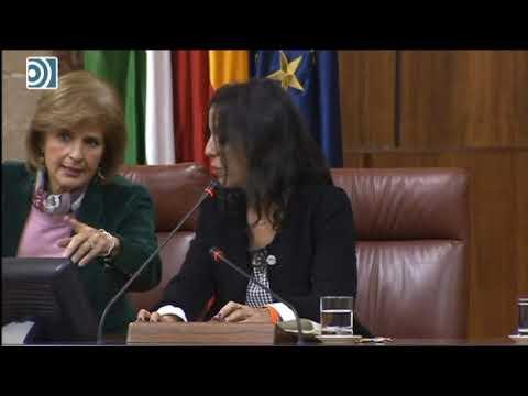 Primera bronca entre la presidenta del Parlamento andaluz y Podemos a cuanta de VOX