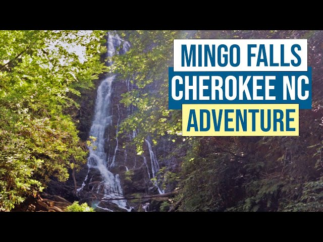 Mingo Falls Adventure in Cherokee NC - Great Smoky Mountains National Park