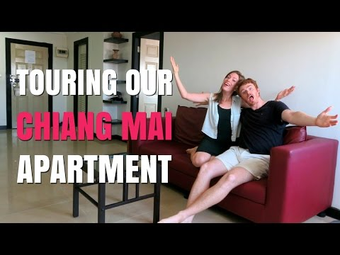 Chiang Mai Apartment Tour in Thailand
