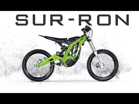Electric motorcycle Sur-ron Электромотоцикл Питбайк Обзор Voltreco.ru
