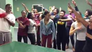 Team Cheers!  Ontario Adventist Christian Fellowship - Winter Retreat 2015