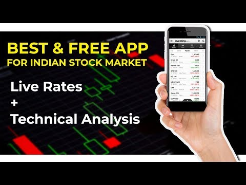 Best Mobile App For indian Stock Market Live Rates & Technical Analysis Charts (Hindi) 2017