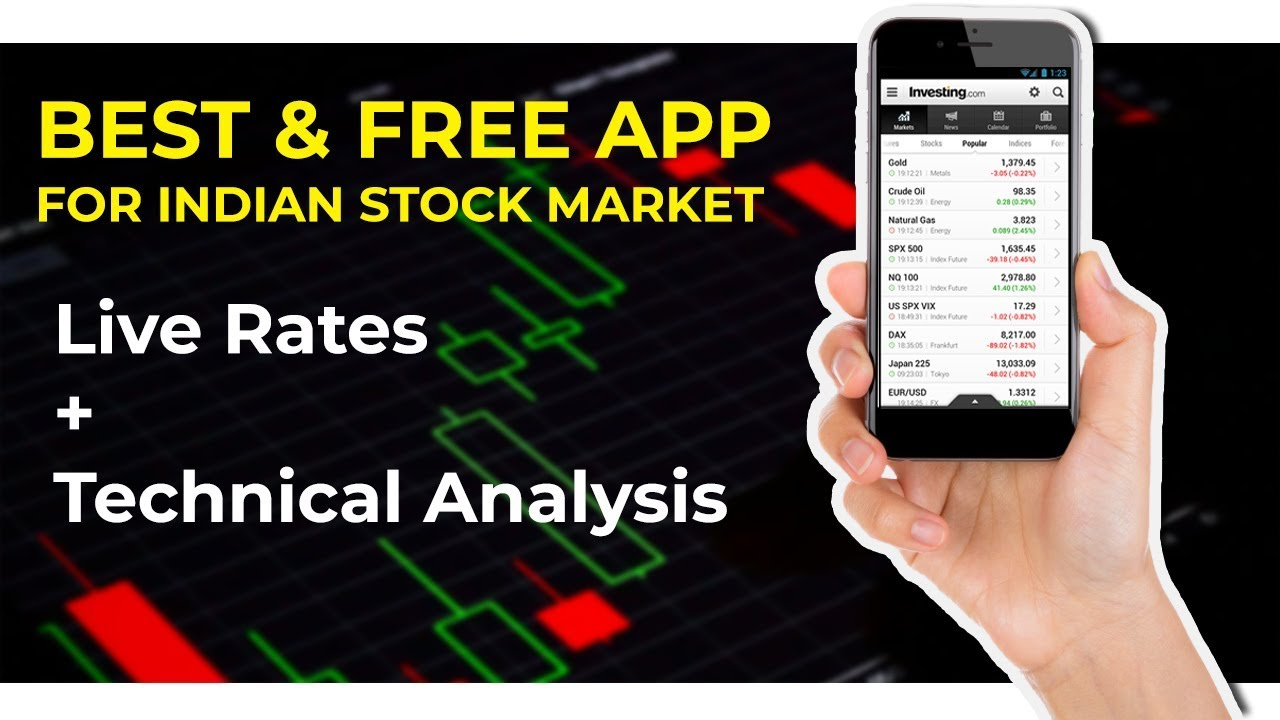 Best mobile app for indian stock market live rates  technical analysis charts hindi also rh youtube
