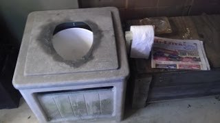 How To Build A Composting Toilet Out Of Junk!