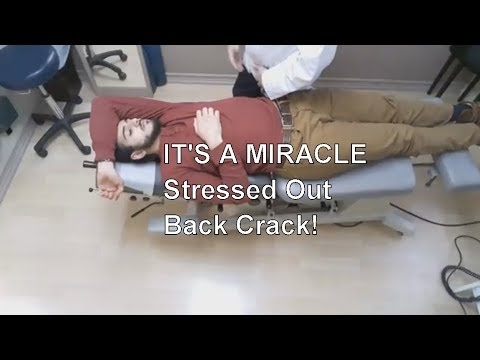 EXTREME stressed out Neck & Back Crack!