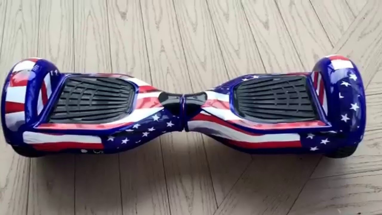 NEW 2015 Hoverboard American Flag Sticker