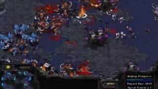StarCraft Terran vs Zerg Final