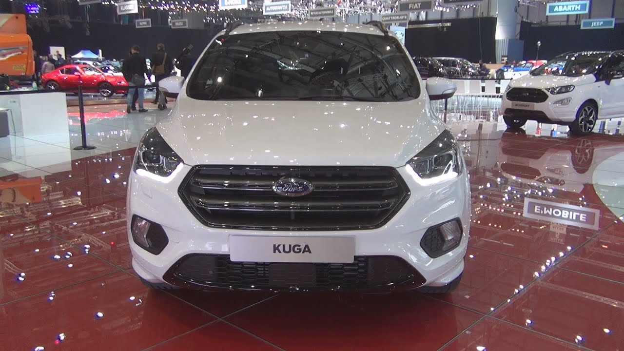 ford kuga st line ecoboost awd 2018 exterior and. Black Bedroom Furniture Sets. Home Design Ideas