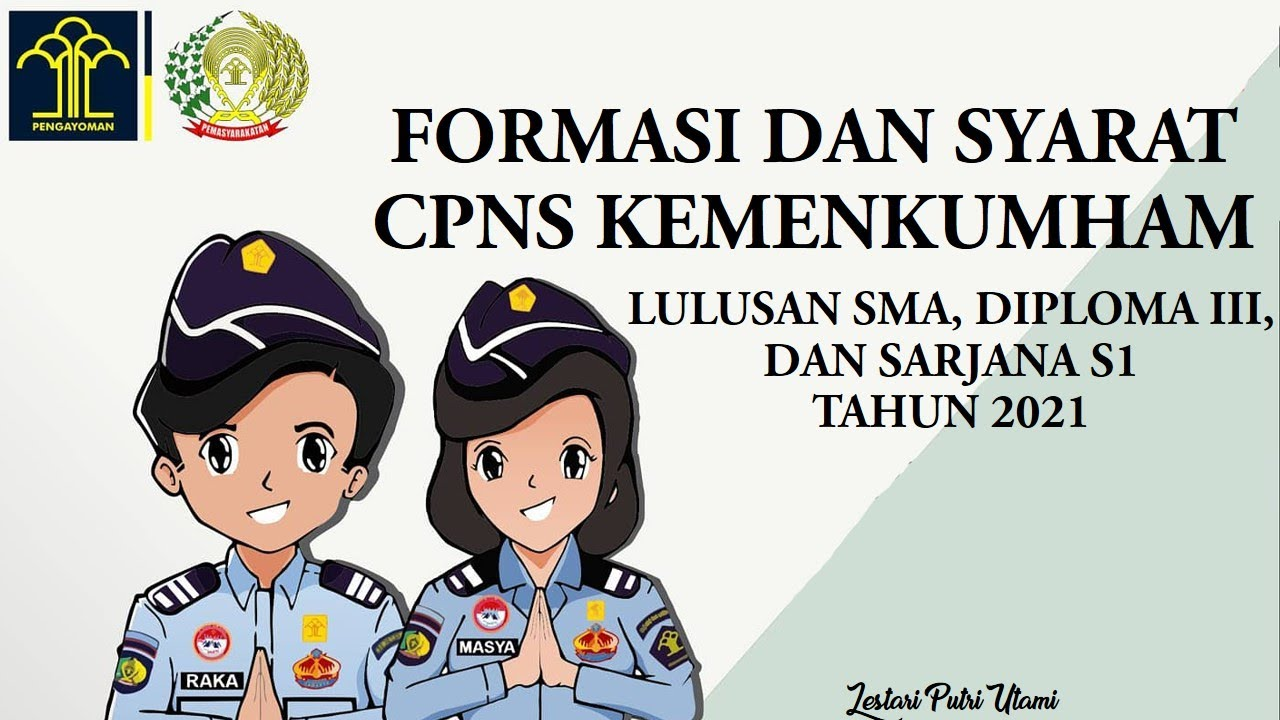10++ Syarat cpns kemenkumham untuk sma ppdb 2021