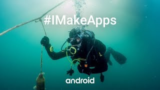 #IMakeApps | Jaehyung Daniel Lee | Scuba diver | EMPO | South Korea |