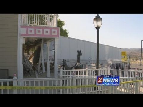 5/25 5pm Truck Crashes into Bunny Ranch