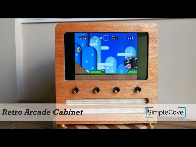Build Your Own Retro-Inspired Retro Game Cabinet