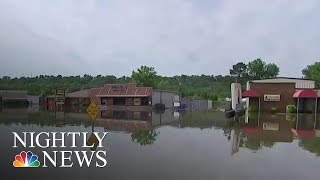 Swollen Rivers Flood Homes, Force Evacuations In Several States   NBC Nightly News