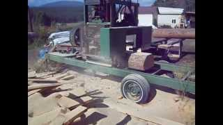 Ron's Bandsaw Mill Videos - Demonstration Video 2