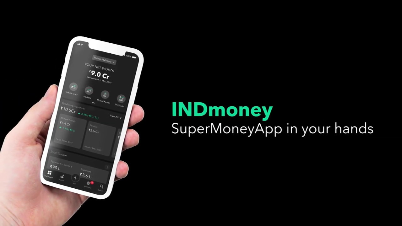 indmoney (indwealth) -manage your loans, investments, networth, expenses at one place #supermoneyapp - youtube