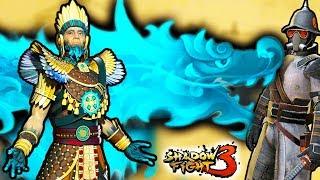 Легендарный Тенерез против Вождя Краснокожих в новой 5 главе Shadow Fight 3. Прохождение от ФГТВ