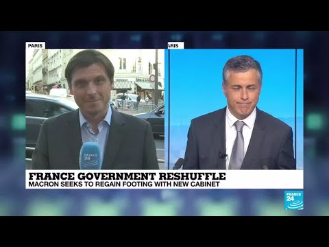 """France government reshuffle: """"time for a real reboot"""" of Macron's administration?"""