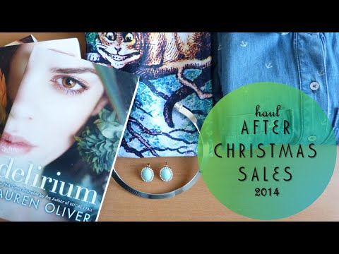 Haul: After Christmas Sales 2014