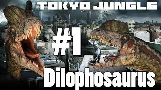 Tokyo Jungle - Dilophosaurus Survive over 100 years Part 1 of 4