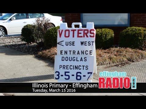 Illinois Primary 2016 - Effingham