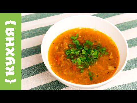 Суп из чечевицы c беконом
