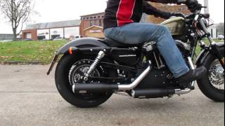 Auspuff Sounds: Harley-Davidson