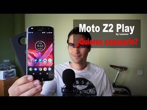 Motorola Moto Z2 Play   unboxing y pre review en español streaming vf