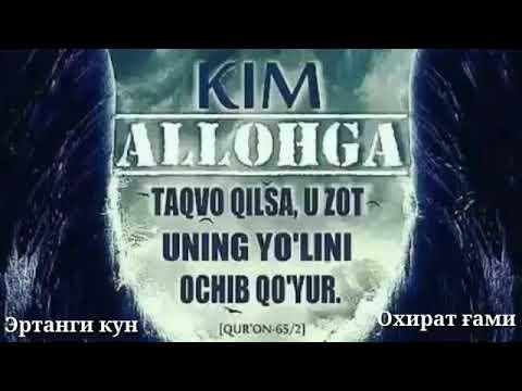 Download Taqvo haqida.Shayh Abduvali qori Rohimahulloh