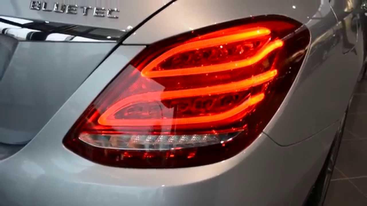 Original Mercedes Benz W205 S205 C205 LED Rear light tail lights  Rückleuchten Rücklicht Heckleuchte
