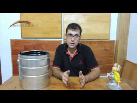 Alberplast te comenta sobre la brea líquida en tacho de kekol
