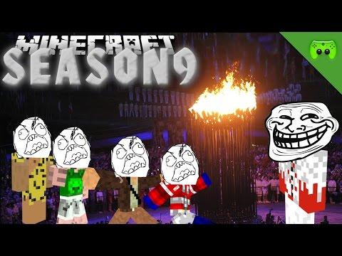BEGINN DER OLYMPISCHEN TROLLSPIELE 🎮 Minecraft Season 9 #125