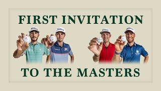 First Invitation to the Masters for #TeamTitleist