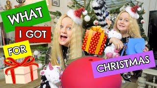 What I got for christmas 2017 Meine Weihnachtsgeschenke l MaVie Noelle