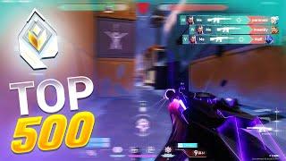 I hit Top 500 RADÏANT in Valorant