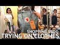 TRYING ON CLOTHES IN LONDON SHOPS! Shopping VLOG ft Liberty London & Oxford St!
