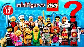 LEGO Minifigures 17 серия (71018). Новый ЛЕГО МИСТЕР ГОЛД редкая минифигурка? Ждём май 2017 года