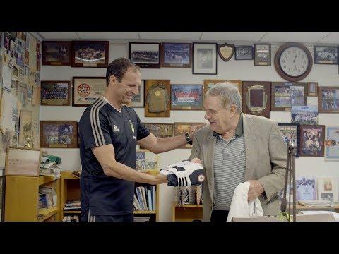Juventus coach Massimiliano Allegri meets The Pingry School's legendary Coach Bugliari! | #CONTAJUS