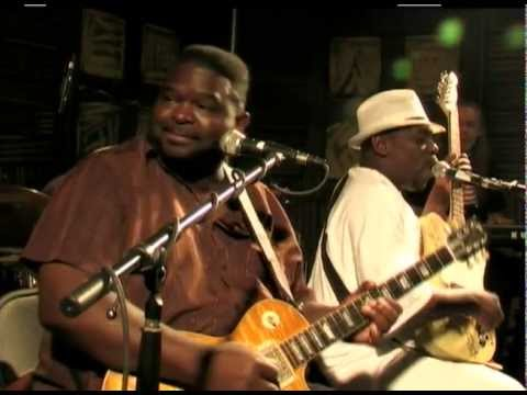 """Micheal """"Iron Man"""" Burks and Lucky Peterson - Safeway Waterfront Blues Festival 2010"""