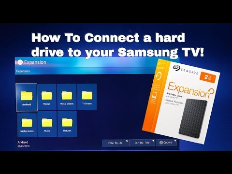 How To | Connect A Hard Drive To Your Samsung TV!