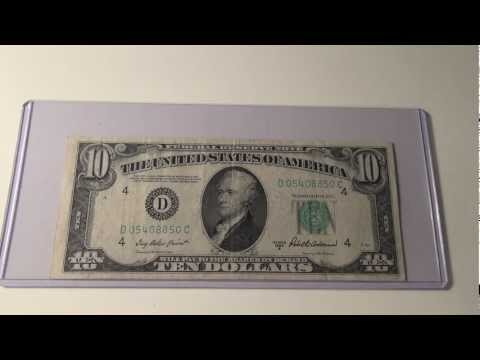 1950B Federal Reserve Note