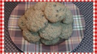 Double Raisin Oatmeal Lunchbox Cookies ~ Noreen's Kitchen