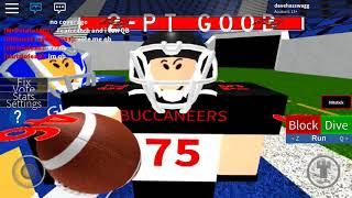 Roblox Legendary Football 🏈 New York Giants vs Tampa Bay Buccaneers
