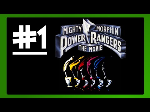 Mighty Morphin Power Rangers The Movie #1 Aisha VS Mordant [Game Boy]