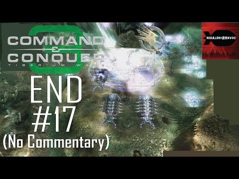 Command & Conquer 3 Tiberium Wars GDI Campaign Playthrough Part 17 FINAL (No commentary, Mission 17)