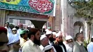 Istqbal Qibla Pir Muhammad Amin Ul Hasnaat Shah Sb In Sialkot Cantt